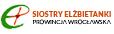 logo Zgromadzenia Sióstr świętej Elżbiety Prowincji wrocławskiej, link do strony www.elzbietanki.wroclaw.pl